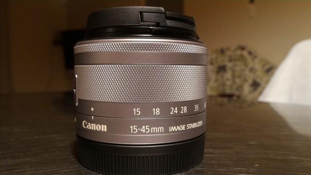 CANONレンズ EF-M 15-45mm 望遠