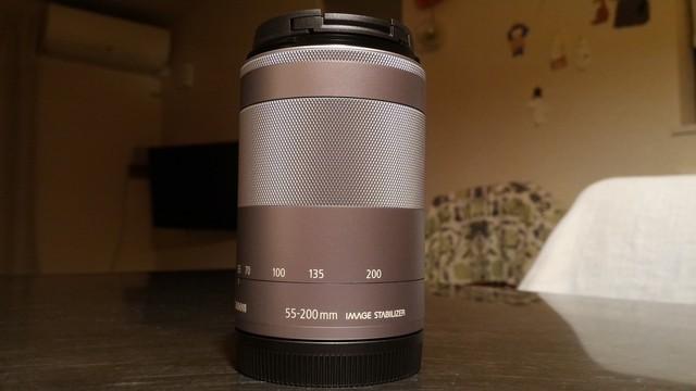 CANONレンズ EF-M 200mm 望遠