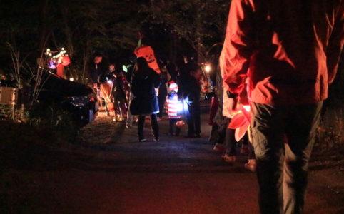 赤城オートキャンプ場の2016ハロウィンフェスタの仮装パレード