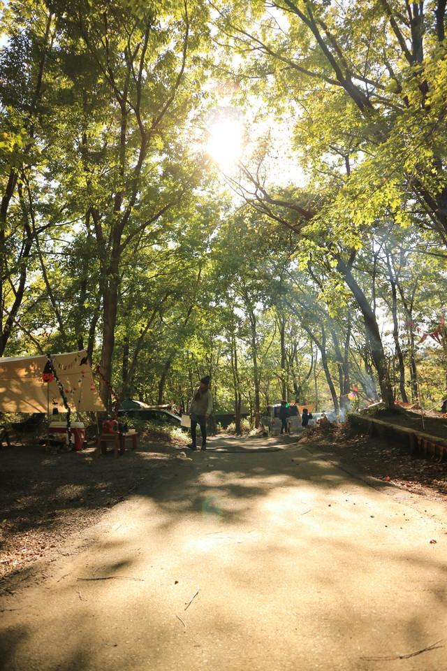 赤城オートキャンプ場の2016ハロウィンフェスタでキャンプ