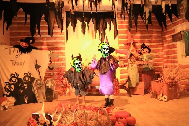 赤城オートキャンプ場の2016ハロウィンフェスタの仮装パレード記念撮影