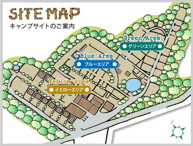赤城オートキャンプ場の地図