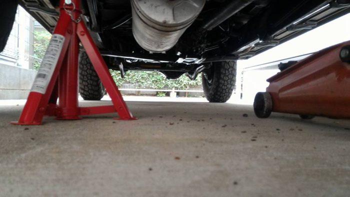 78プラドの車検整備