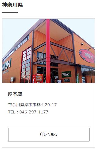 WILD-1の厚木店