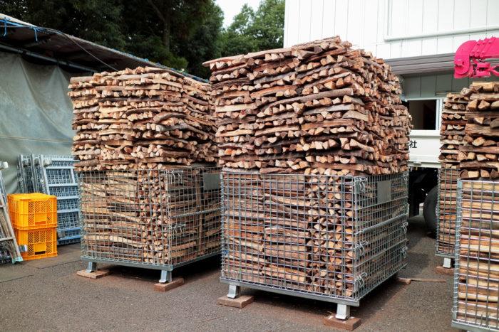 町田市にある東京薪販売のBBQ用薪