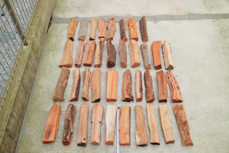 町田市にある東京薪販売で買った広葉樹の本数