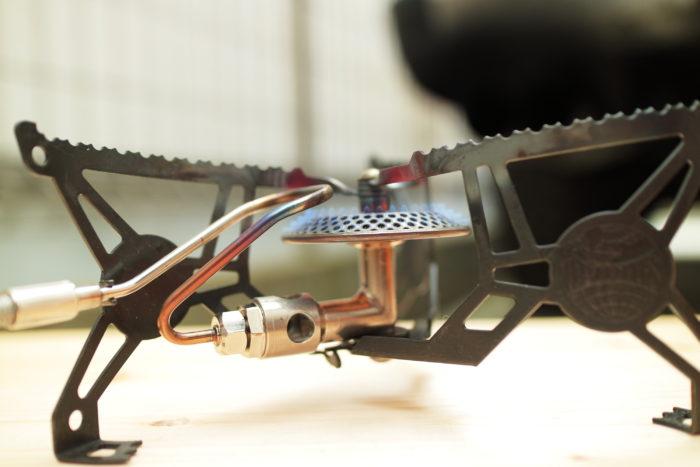 シングルバーナーのOPTIMUSのVEGAの燃料部分