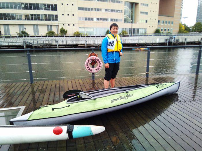 2017第36回横浜縦断カヌーフェスティバルに出場される参加者の方