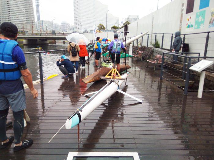 2017第36回横浜縦断カヌーフェスティバルに出場される変わった船