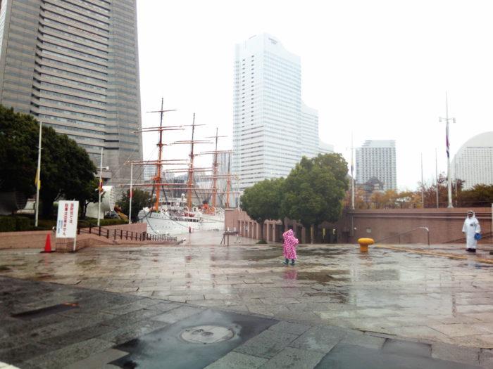 2017第36回横浜縦断カヌーフェスティバルの受付に向かう