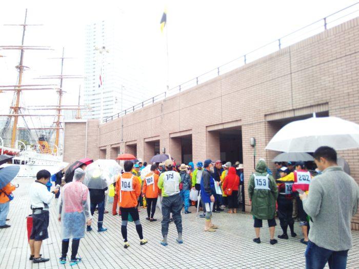 2017第36回横浜縦断カヌーフェスティバルの開会式
