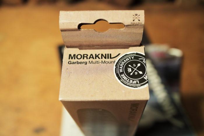 モーラナイフ(Morakniv)のガーバーグ(Garberg)マルチマウント(Multi-Mount)の箱