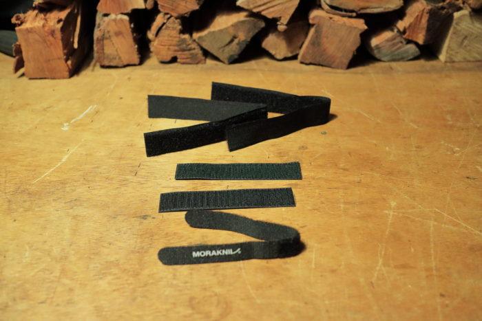 モーラナイフ(Morakniv)のガーバーグ(Garberg)マルチマウント(Multi-Mount)の固定ストラップ