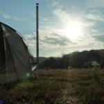 (後編)初のソロキャンプは田代運動公園でw