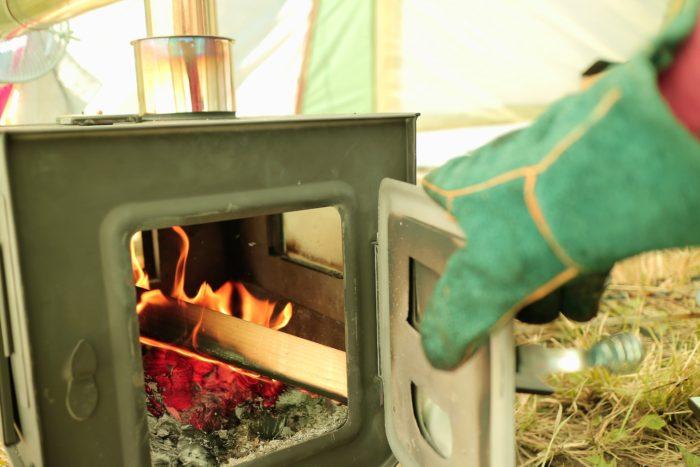 ノースイーグルのオクタゴンに新保製作所のチョッパープロトタイプを入れて火を付ける