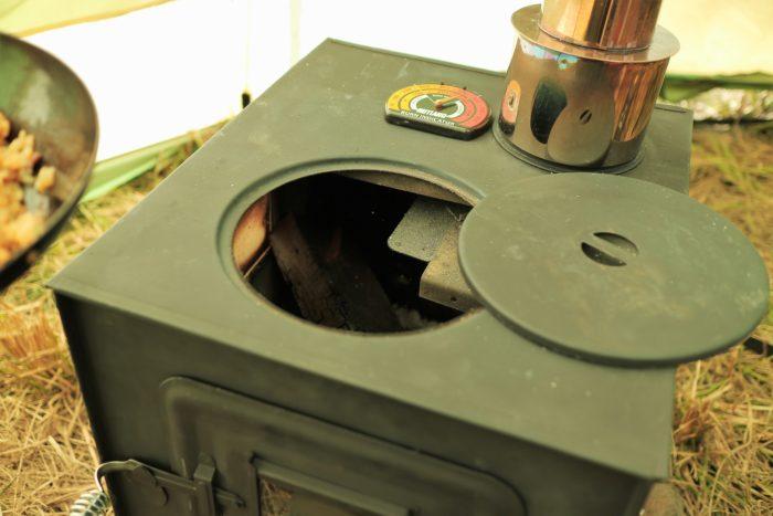 田代運動でソロキャンプをしてコンビニの冷凍チャーハンを作る