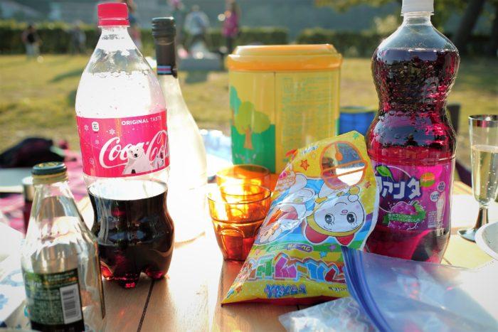 上大島キャンプ場でデイキャンプをする