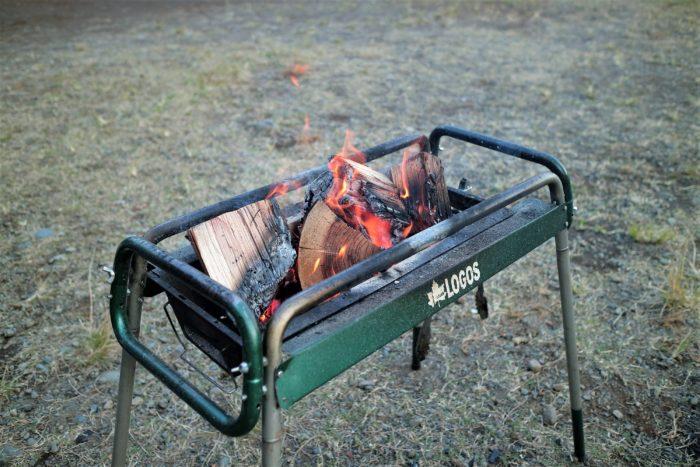 スエディッシュトーチの残りを燃やしきる
