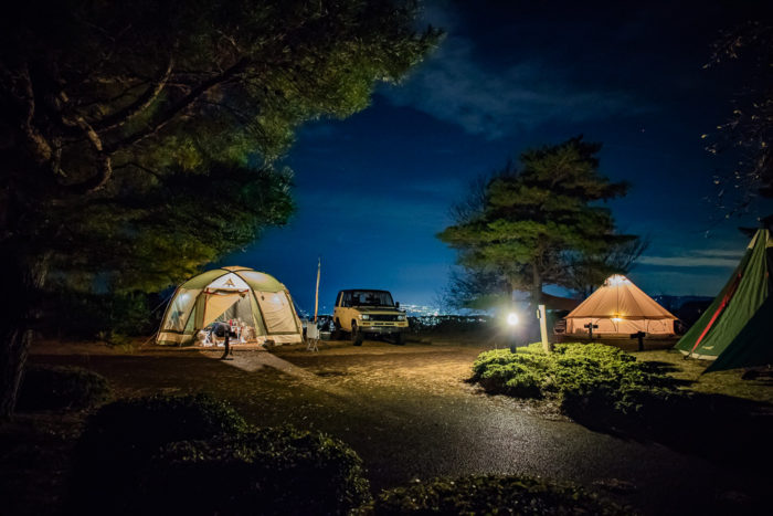 だるま山高原キャンプ場でナチュログブロガー写真部に遭遇