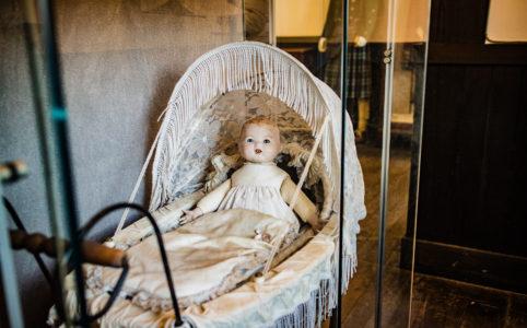 修善寺虹の郷のトーイミュージアムのちょっと怖い人形