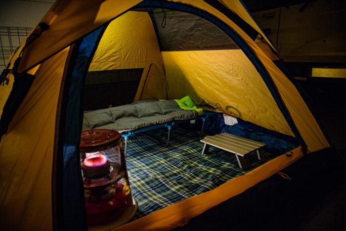 【キャンプ速報】2017年最後のキャンプ。