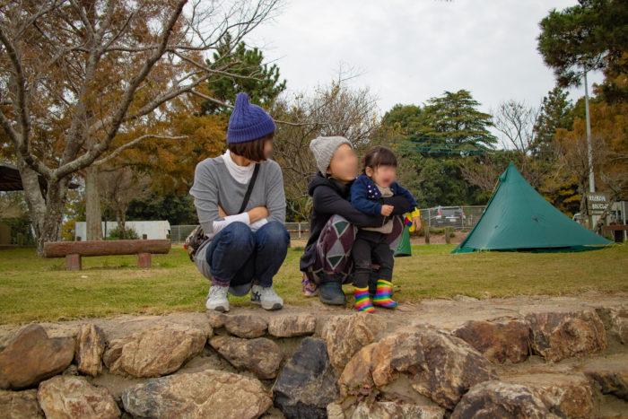 親沢公園キャンプ場でキャンプ。