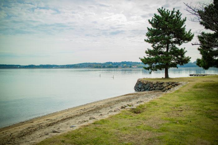涸沼と親沢公園キャンプ場