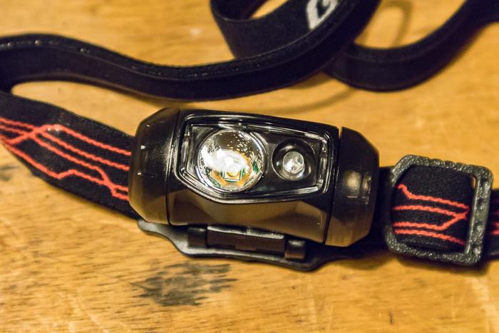 GENTOSLEDのヘッドライトCP-095Dのライト部分