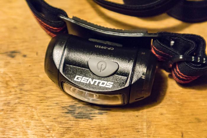 GENTOSLEDのヘッドライトCP-095Dのボディ
