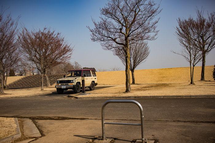 蔓巻公園キャンプ場のサイト