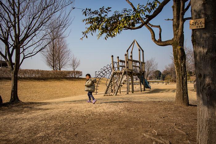 蔓巻公園キャンプ場の遊具