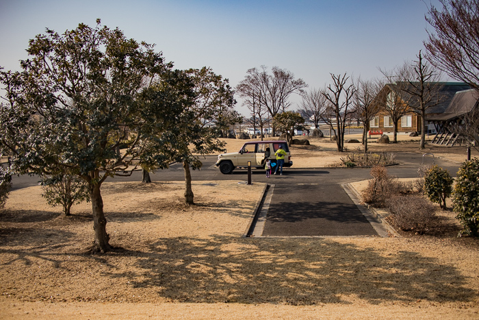 では早速っ、蔓巻公園オートキャンプ場で行われたブロガーキャンプ。