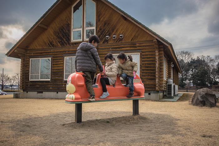 蔓巻公園オートキャンプ場で遊ぶ
