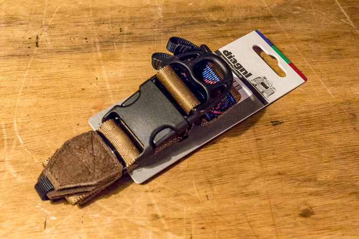 diagnlのNinja Strap 38mm スウェード コヨーテブラウン