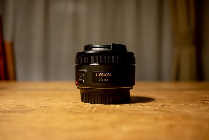 EF50mm f1.8単焦点レンズ本体