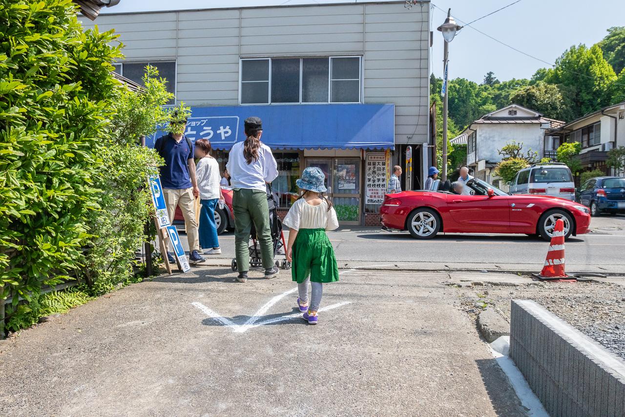 2018年春の益子陶器市に到着、散策開始です。