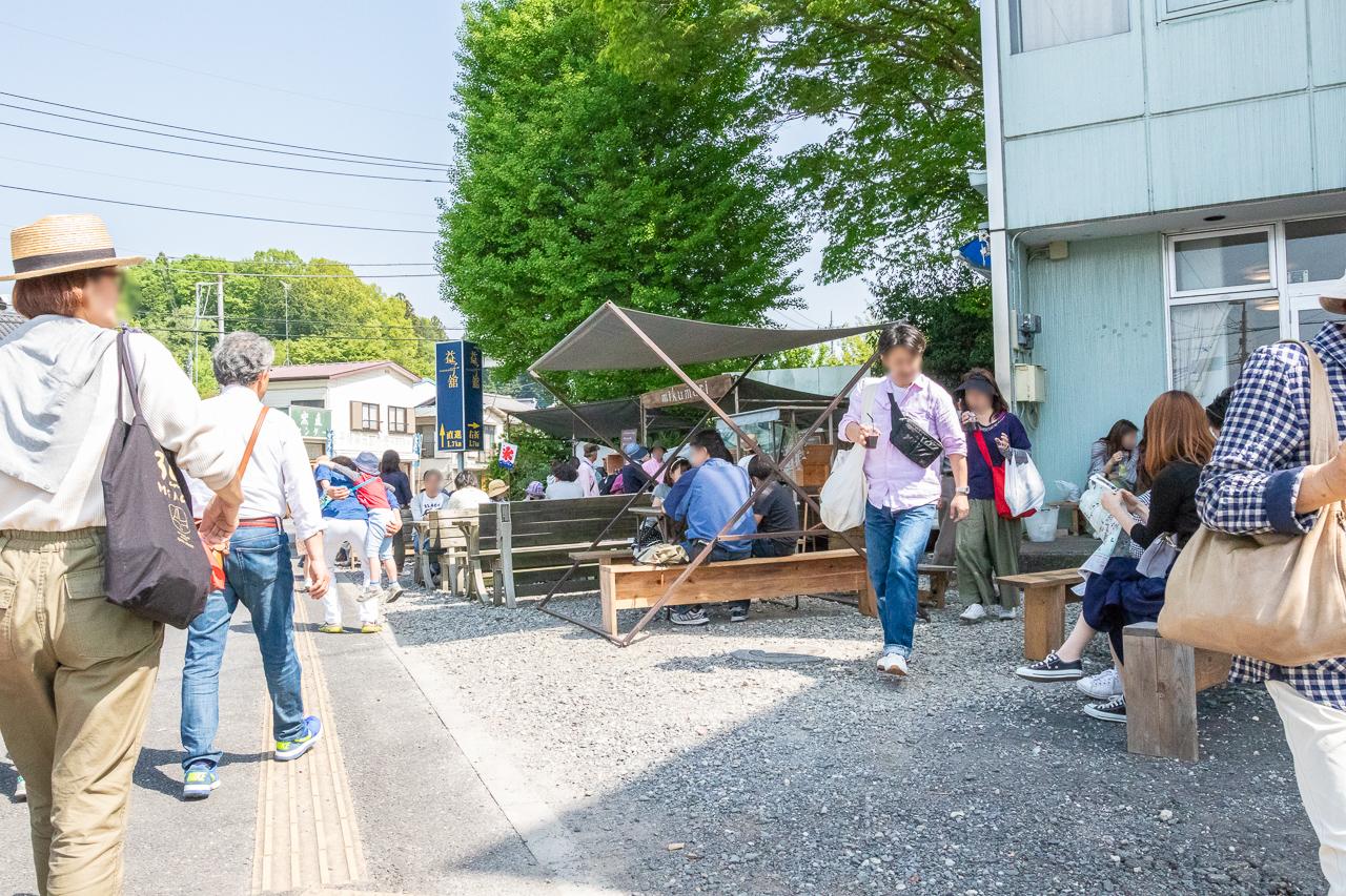 2018年春の益子陶器市も暑かったのでちょっと休憩です。