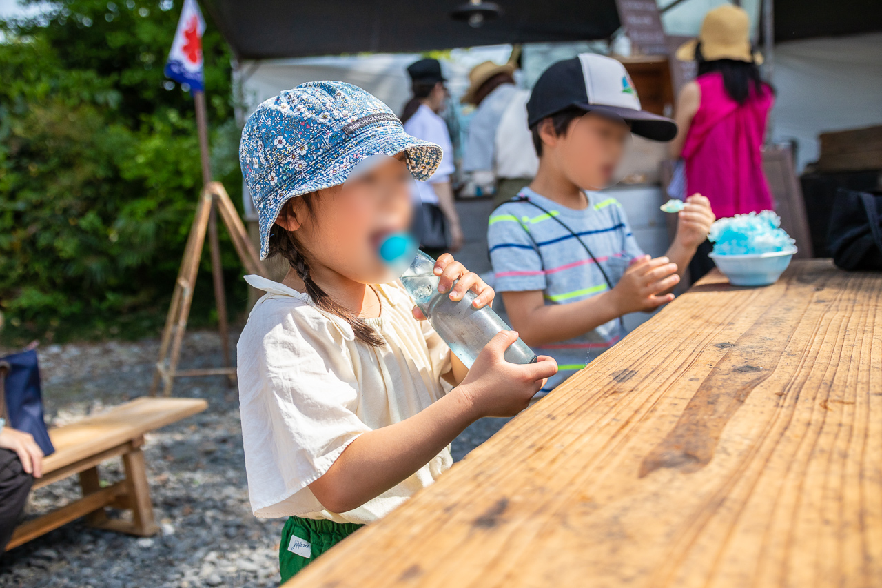 2018年春の益子陶器市でラムネを呑む