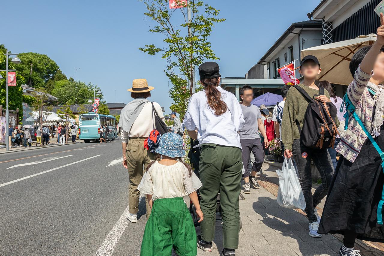 2018年春の益子陶器市を散策する