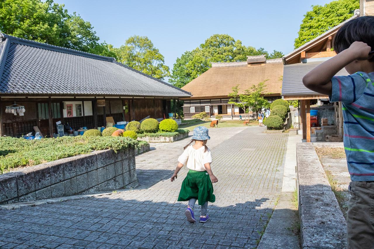 2018年春、益子陶器市の旧濱田庄司邸