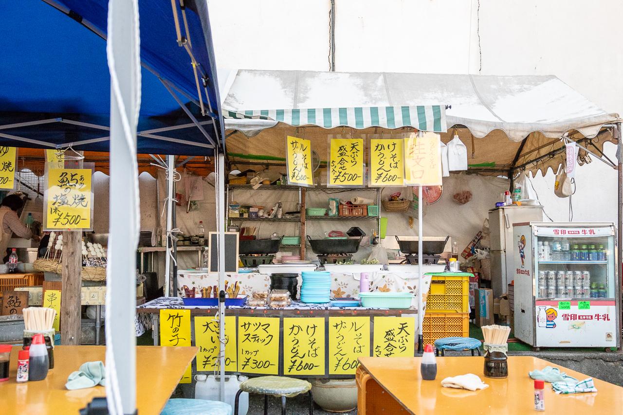 2018年春の益子陶器市の益子焼窯元共販センター