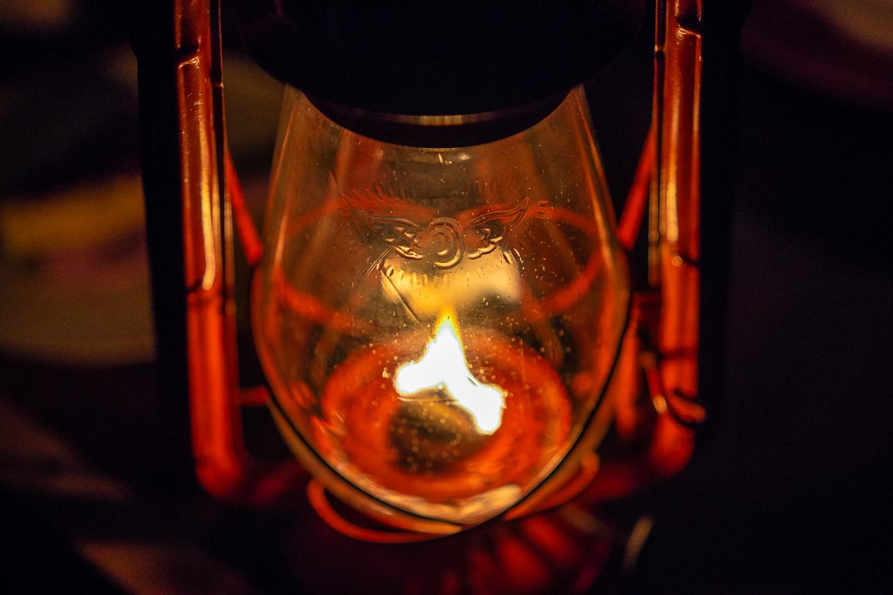 鷲の巣キャンプ場でWINGED WHEEL No.500に火を灯す