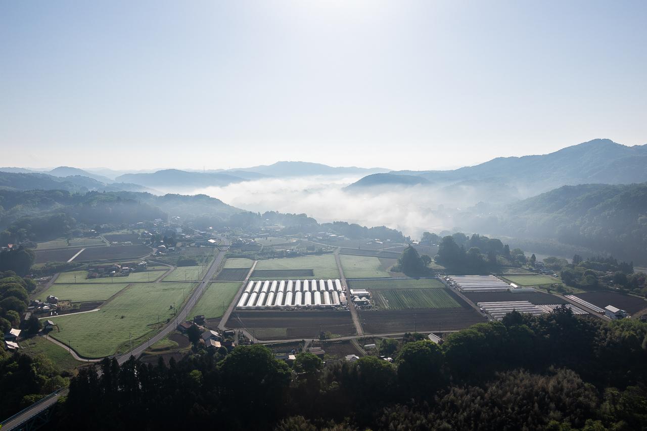 鎌倉山展望台からの雲海の眺め