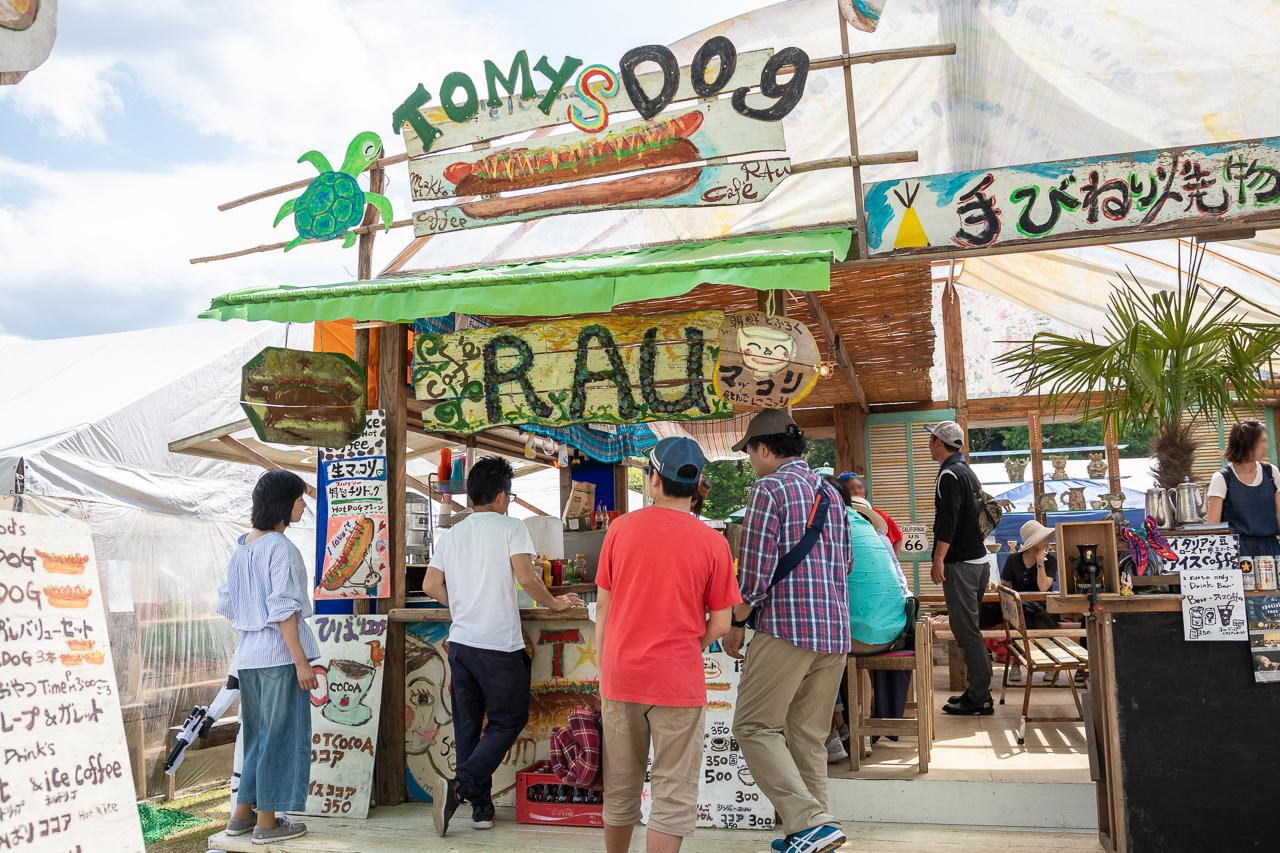 2018年笠間の陶炎祭(ひまつり)の出店