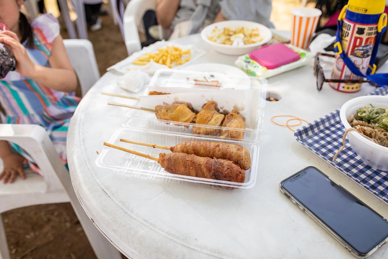2018年笠間の陶炎祭(ひまつり)の昼食