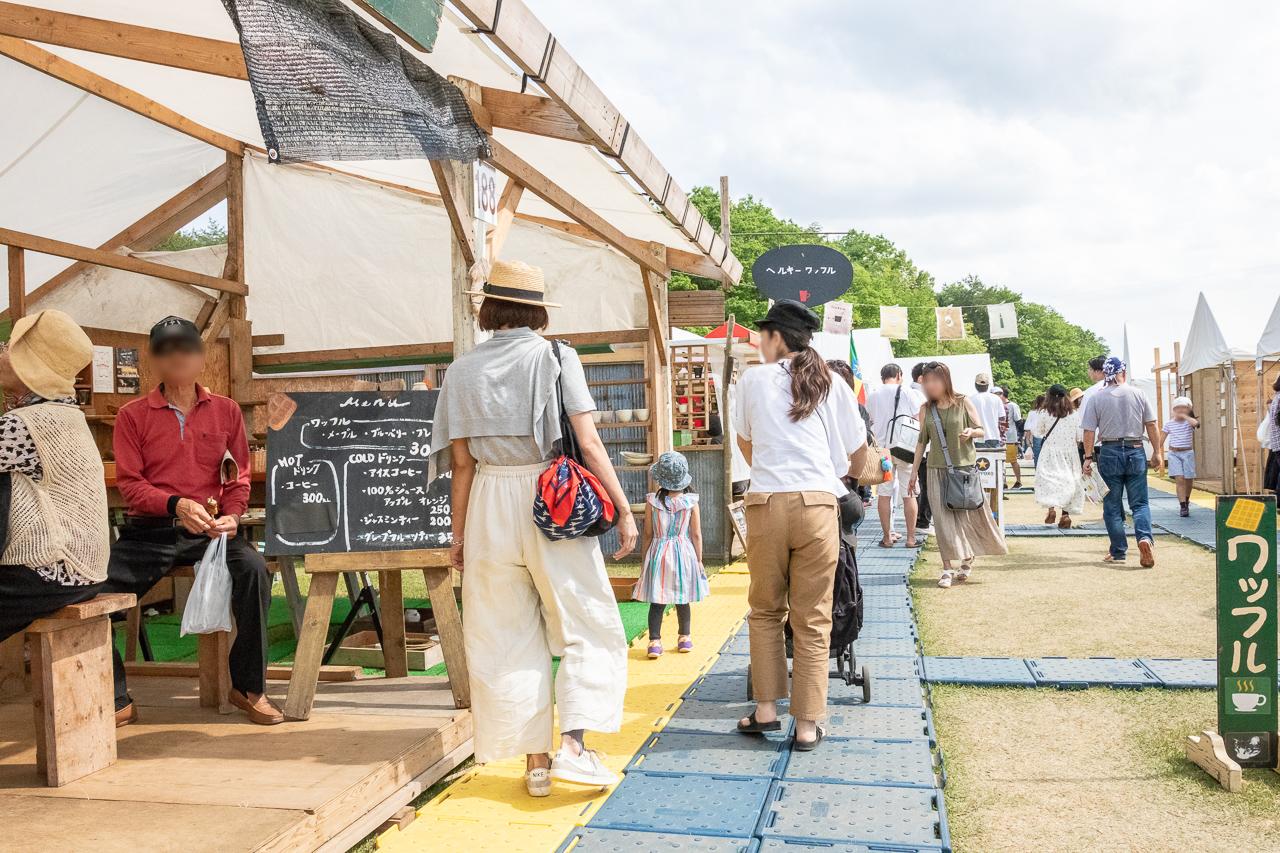 2018年笠間の陶炎祭(ひまつり)のコーヒー屋さん