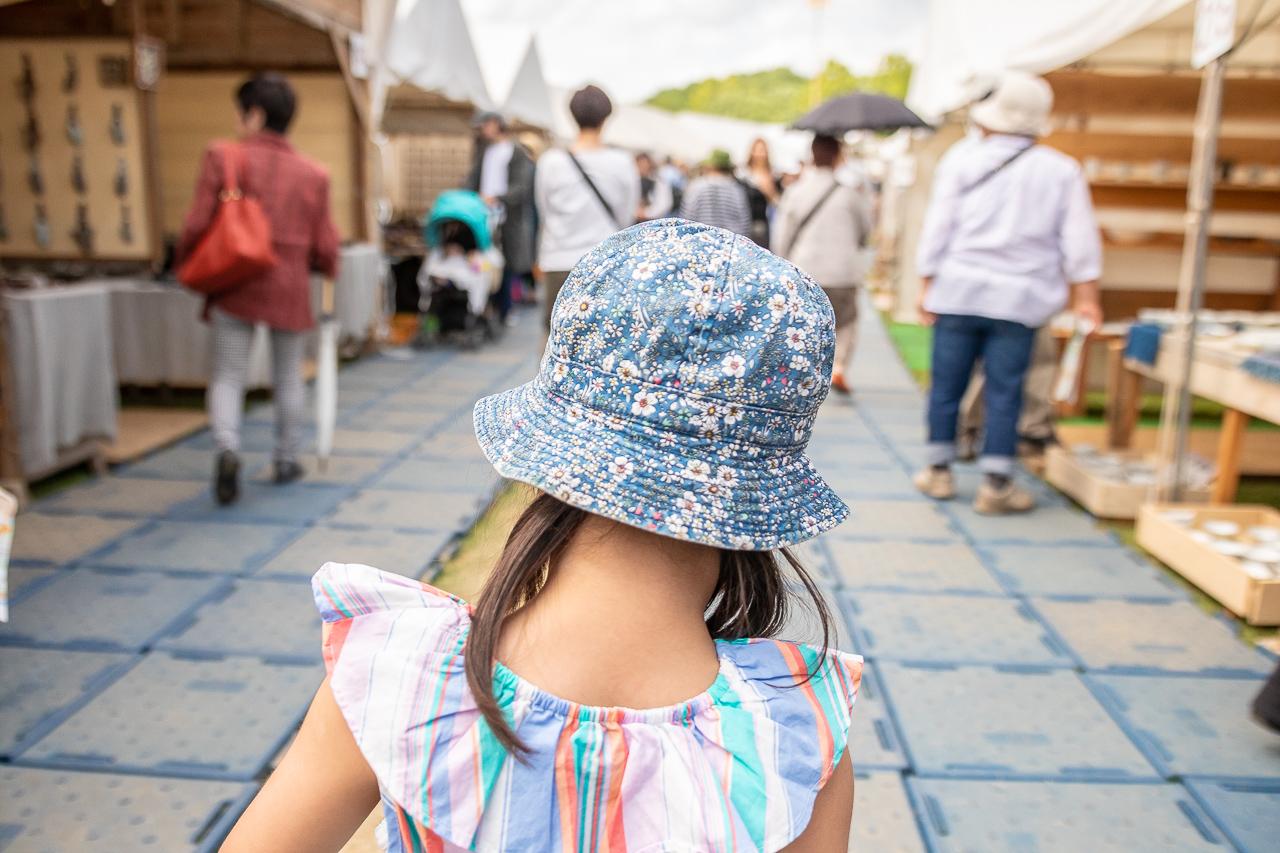 2018年笠間の陶炎祭(ひまつり)の開催風景
