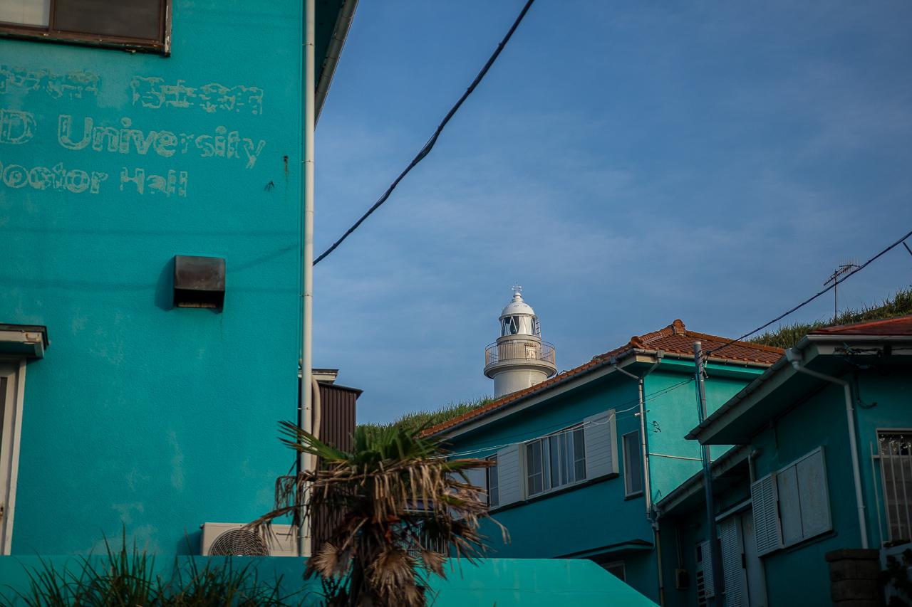 三浦半島の城ヶ島の灯台