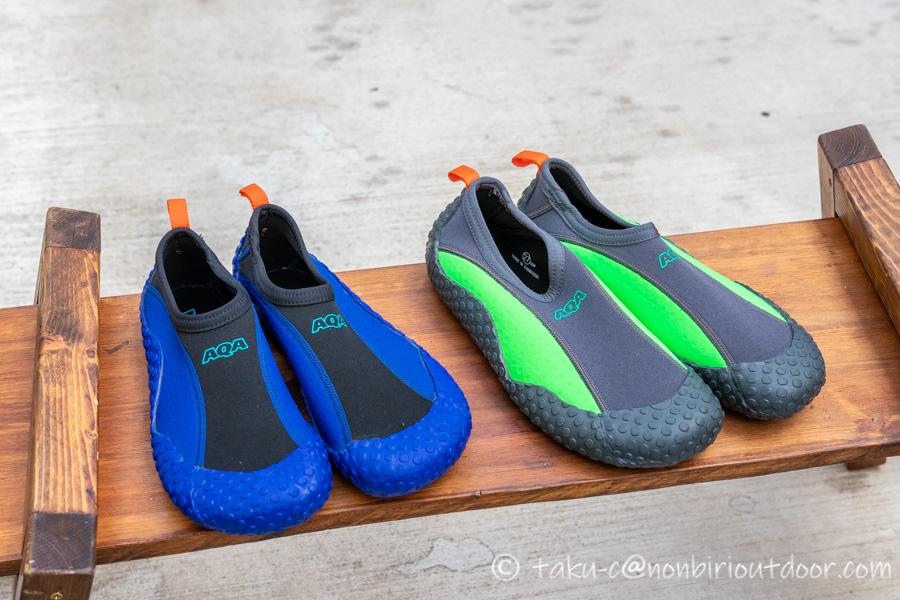 新しく買ったAQAのMARINE BOOTS(マリンブーツ)のスノーケリングシューズⅢ