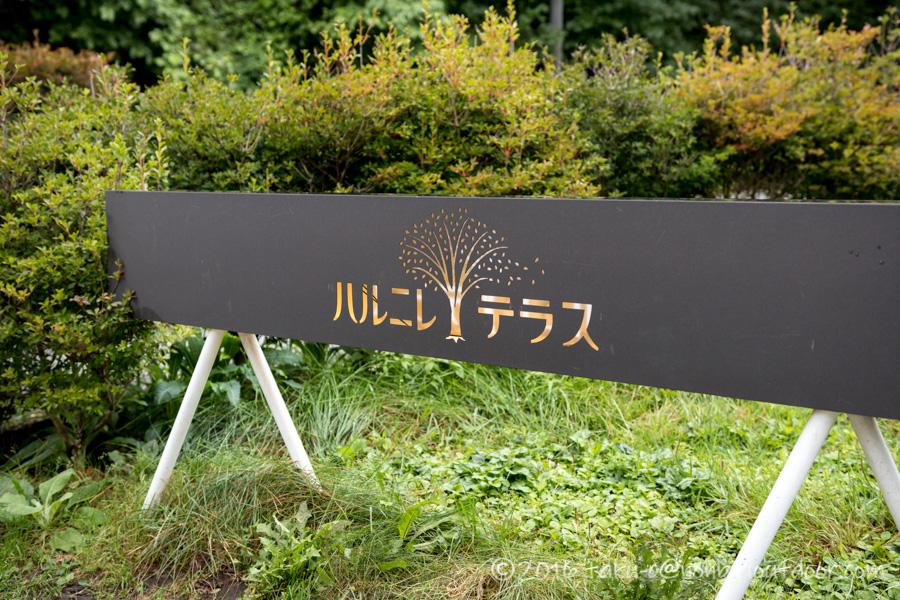 軽井沢のハルニレテラス